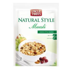 Uncle Toby muesli